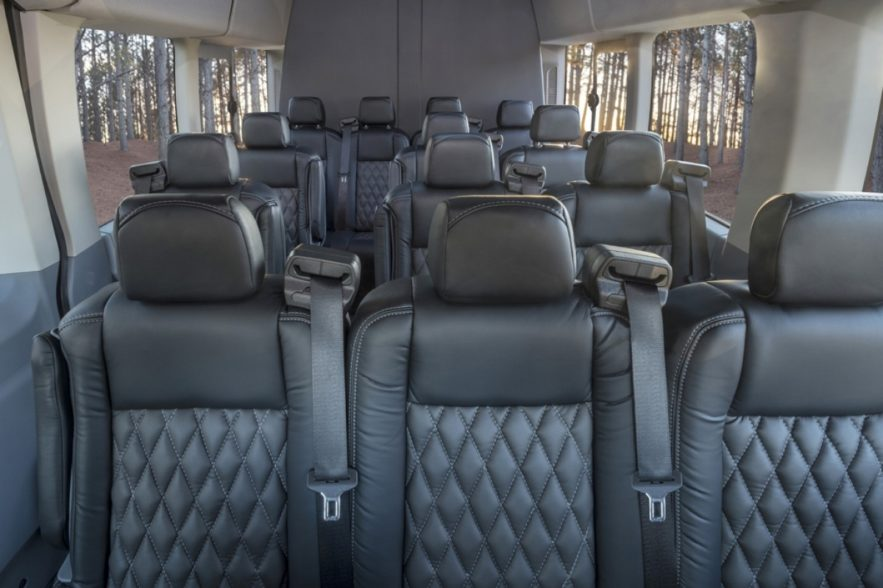 Transportation Excutive Bus Interior Web